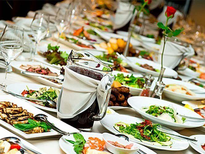 Розраховуємо меню на весільний стіл