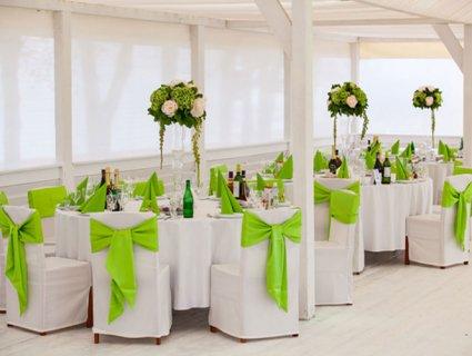Ідеї для прикраси банкетного залу на весілля