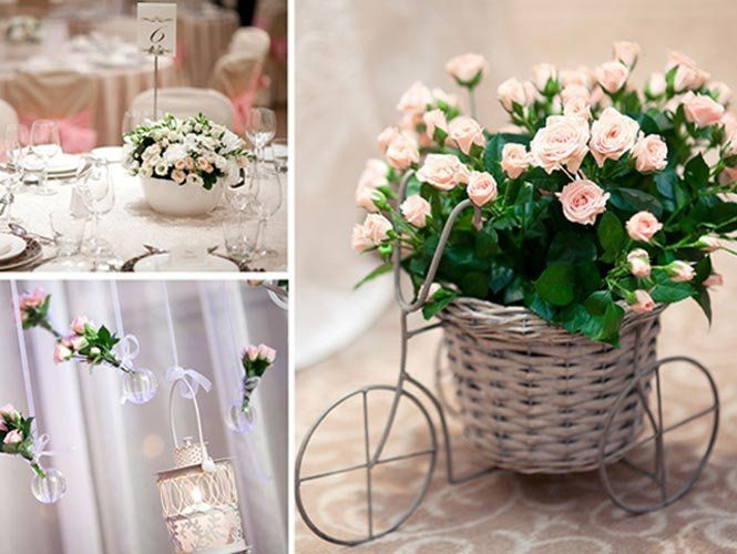 Оформлення весілля квітами