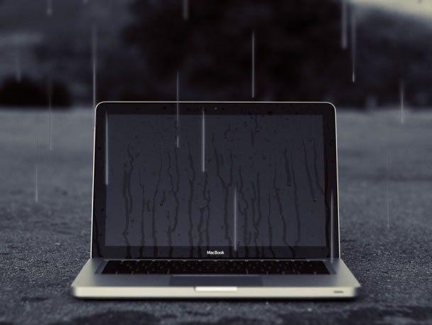 Що робити, якщо на ноутбук потрапила вода