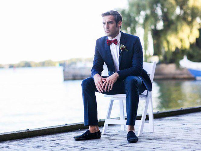 Як вибрати костюм для нареченого?