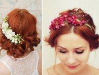 Прикраси для весільної зачіски