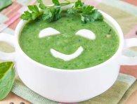 Крем-суп зі шпинату – корисна смакота
