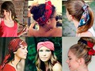 Як зав'язувати шарф на голові