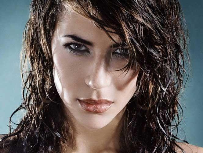 Створюємо ефект «мокрого волосся»