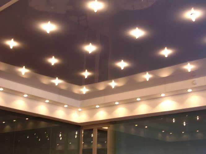 Як розрахувати потужність світильників у приміщеннях з натяжними стелями