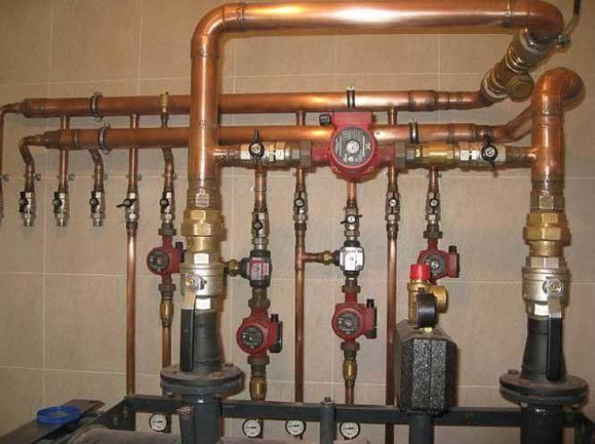 Види труб у системі опалення