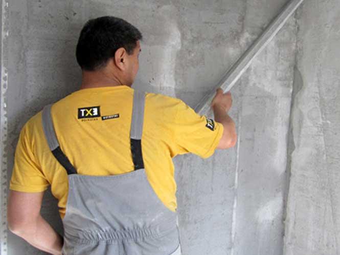 Штукатурка бетонних стін своїми руками
