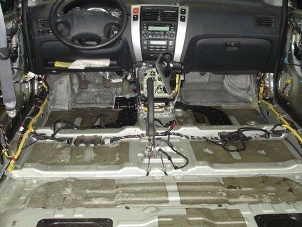 Про шумоізоляцію автомобіля