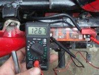 Догляд за акумулятором у мотоциклі