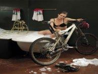 Миємо гірський велосипед