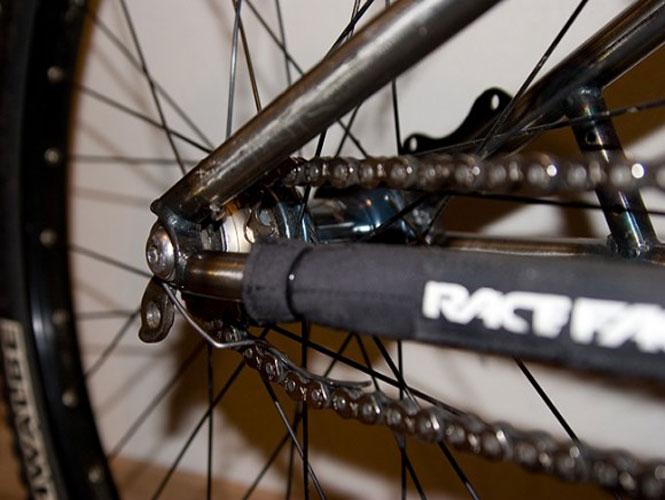 Догляд за ланцюгом у велосипеді