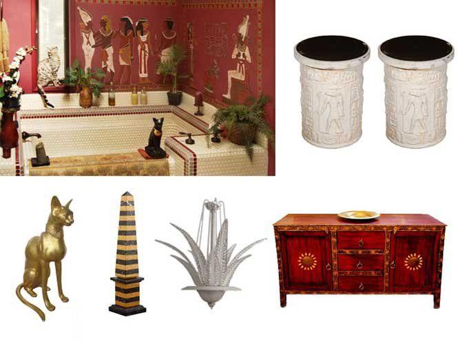 Єгипетський стиль в інтер'єрі – розкоші немає меж