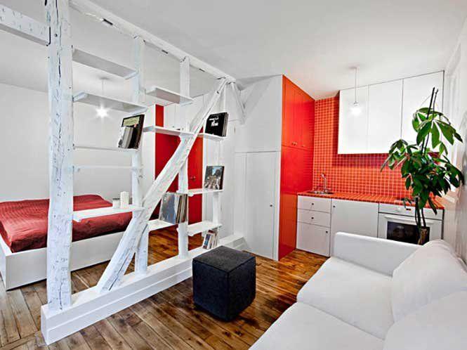 Дизайн інтер'єру квартири-студії
