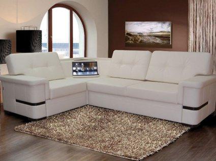 Від вибору кутового дивана залежить дизайн всієї вітальні