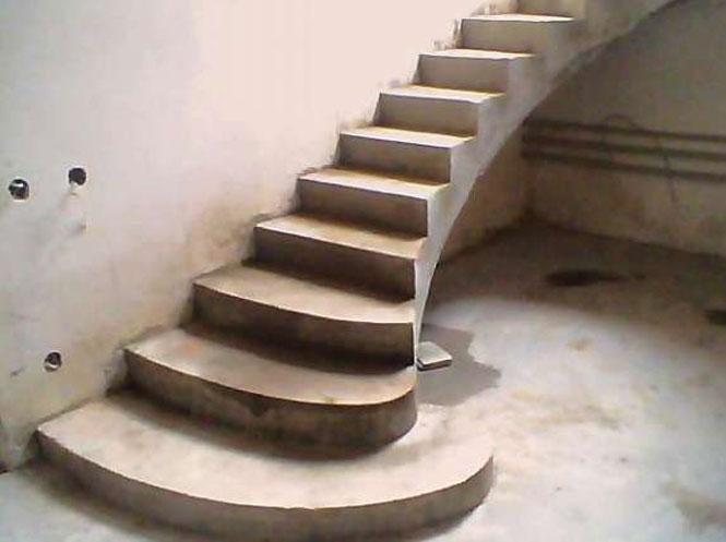 Бетонні сходи: робимо власноруч