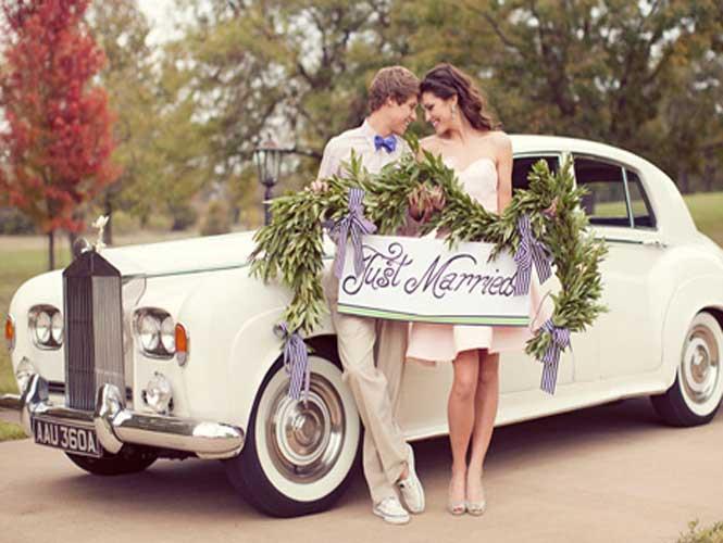 Вибираємо авто на весілля