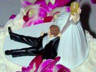Фігурки на весільний торт