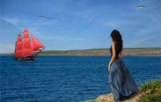 Ассоль з «причепом» дочекалася принца