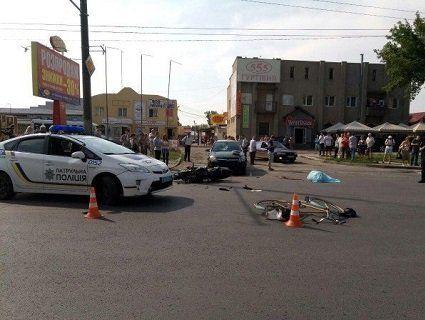 У лікарні помер мотоцикліст, який напередодні потрапив в аварію в Луцьку