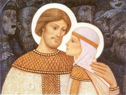 Святі Петро та Февронія