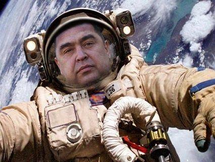 Бойовики «ЛНР» зібралися летіти в космос