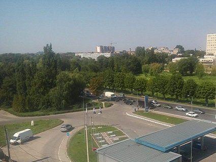 У Луцьку на Набережній утворився затор в результаті аварії