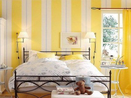Який колір обрати для спальні? Яскраві стіни у спальні