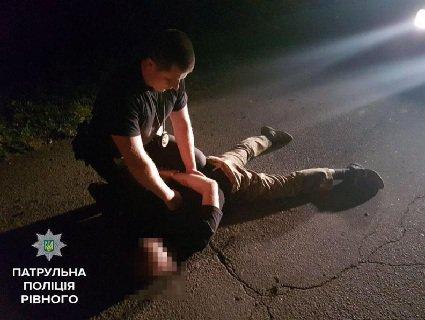Начальник поліції Рівного особисто затримав винуватця смертельної ДТП