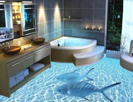 3D-ванни – новинка в інтер'єрі ванної кімнати