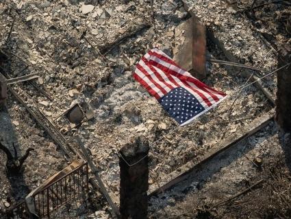 Каліфорнія після пожеж: моторошні фото