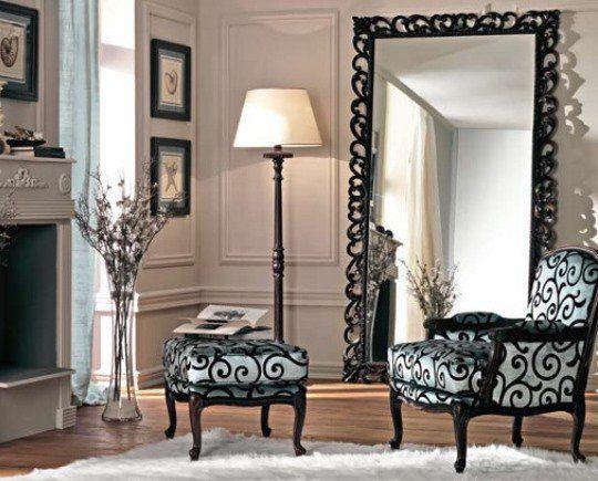 Дзеркало в інтер'єрі – портал в елегантність