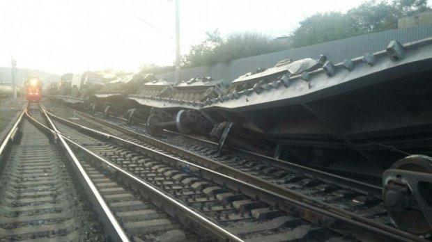 У Канаді перекинувся потяг з нафтою (відео)