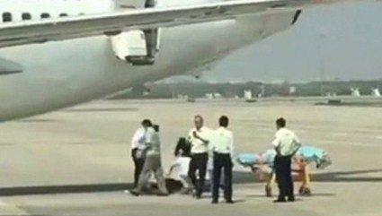 Стюардеса китайської авіакомпанії випала з літака