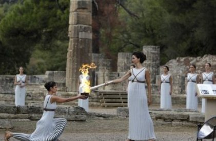 У Греції запалили вогонь XXXIII Зимових Олімпійських ігор