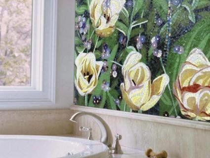 Квітковий дизайн ванної – гармонія та свіжість