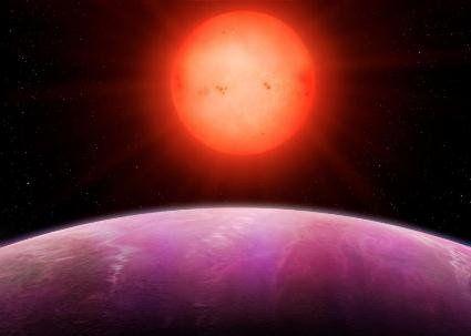 Відкрита екзопланета неймовірно великих розмірів