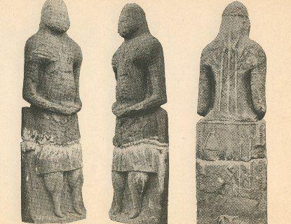 Історична знахідка: в Україні знайшли скіфські кам'яні статуї