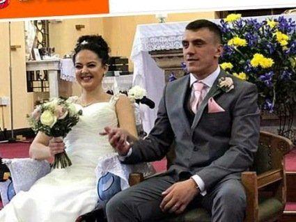 Смертельно хвора дівчина вийшла заміж