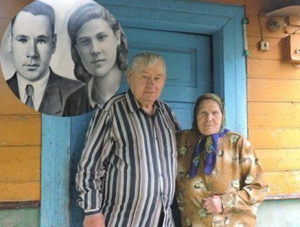 Подружжя волинян відзначило 68 років спільного життя