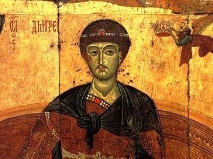 Чому святого Димитрія називають мироточивим?