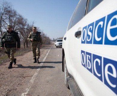 Бойовики не пустили спостерігачів ОБСЄ до місць важкого озброєння