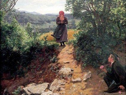 Дівчину з iPhone виявили на картині 1860 року