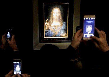 За рекордну ціну - $450,3 млн продано образ да Вінчі «Спаситель світу»