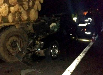 Жахлива аварія  на Волині – загинули двоє партійців