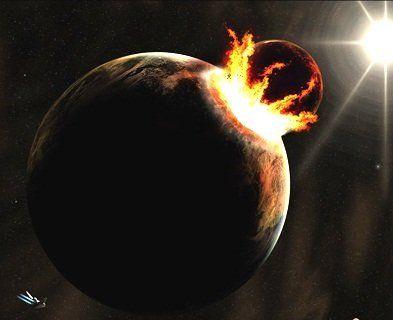 Планета-прибулець розколола Землю і зрушила континенти