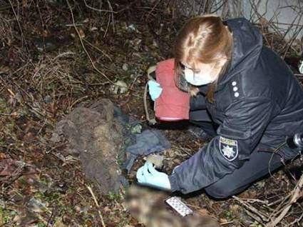 У Вінниці на заправці знайшли скелет людини
