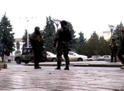 Центр Луганська захоплений бойовиками ватажка «ДНР»(відео)