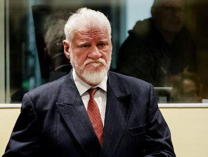 Хорватський генерал випив отруту на засіданні міжнародного трибуналу