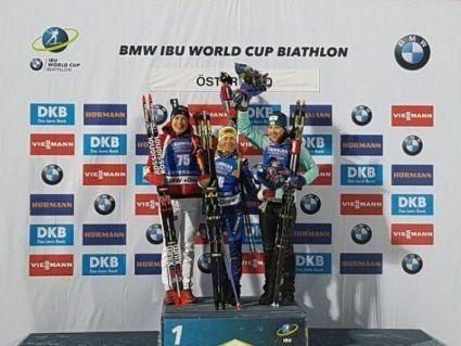 Українки виграли першу бронзу на Кубку світу з біатлону